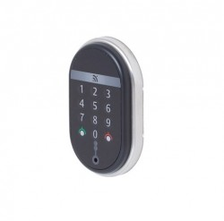 Spy keypad wall reader
